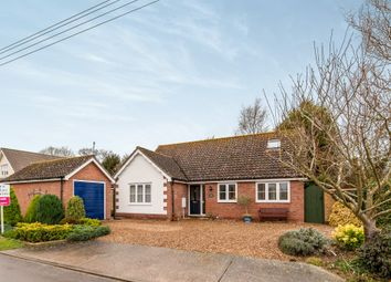 Thumbnail 3 bed detached bungalow for sale in Clint Road, Thorndon, Eye