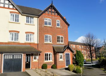 Thumbnail 4 bed town house to rent in Deane Court, Stapeley, Nantwich