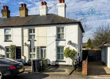 Thumbnail 2 bed end terrace house for sale in Grove Road, Chertsey