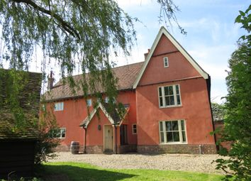 Thumbnail 4 bedroom farmhouse to rent in Thorpe Morieux, Suffolk