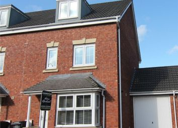 Thumbnail 4 bed end terrace house for sale in Careys Way, Weston-Super-Mare