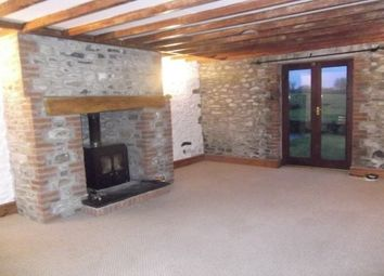 Thumbnail 3 bed barn conversion to rent in Drefach, Llanybydder