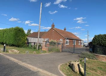 Thumbnail 4 bed detached bungalow for sale in Burnt House Road, Turves, Peterborough