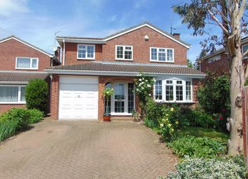 Thumbnail 4 bed detached house for sale in Foxlands, Desborough