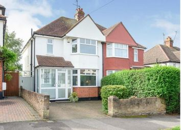 Thumbnail 3 bed semi-detached house for sale in Somerset Avenue, Chessington, Surrey, .