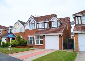 Thumbnail 4 bed detached house to rent in Meldon Close, Liverpool