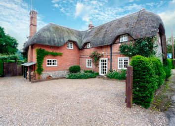 Thumbnail 4 bed cottage for sale in Horse Shoe Lane, Hurstbourne Tarrant, Andover