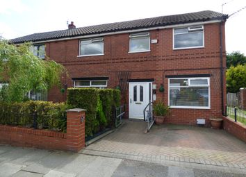 Thumbnail 5 bedroom semi-detached house for sale in Chapelfield Drive, Walkden, Lancashire