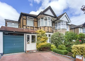 Thumbnail 4 bed semi-detached house for sale in Hunters Grove, Kenton, Harrow