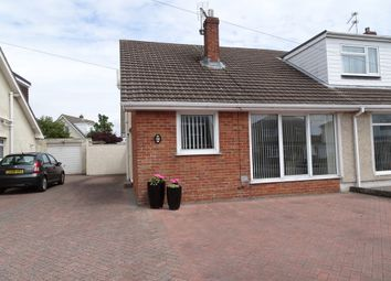 Thumbnail 3 bed semi-detached bungalow for sale in West Park Drive, Porthcawl