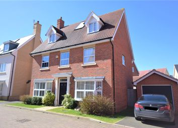 Thumbnail 5 bed detached house for sale in Chapmans Close, Little Canfield, Dunmow