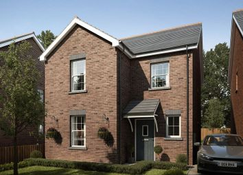 Thumbnail 3 bed detached house for sale in Plot 8, Mansion Gardens, Penllergaer, Swansea