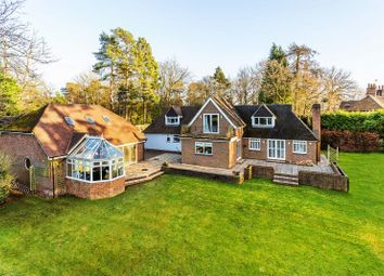 Thumbnail 4 bed detached house for sale in Longdown Road, Lower Bourne, Farnham