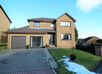 Thumbnail 4 bed detached house for sale in Turnberry Gardens, Cumbernauld
