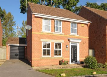 Thumbnail 3 bed detached house to rent in Bentley Drive, Arborfield, Reading, Berkshire