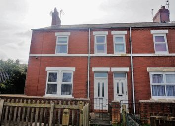 3 bed end terrace house for sale in North View, Ashington NE63