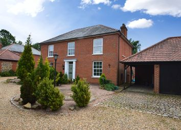 Thumbnail 4 bed detached house to rent in High Street, Stetchworth, Newmarket