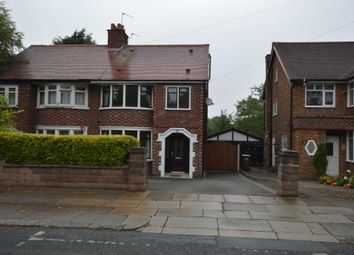 Thumbnail 4 bed semi-detached house to rent in Heath Road, Bebington, Wirral