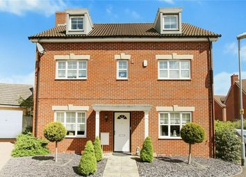 Thumbnail 5 bed detached house for sale in Maskell Drive, Bedford