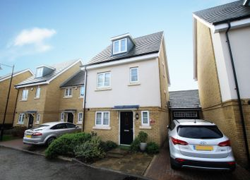 Thumbnail 3 bed detached house for sale in Brookwood Farm Drive, Woking, Surrey