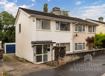 Thumbnail 3 bed semi-detached house for sale in Dudley Road, Plympton, Plymouth, Devon