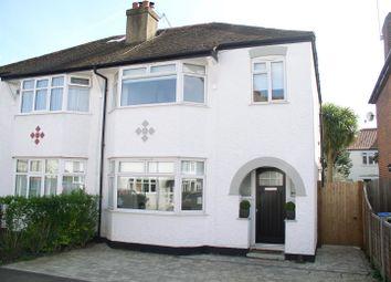 Thumbnail 3 bed property for sale in Lovelace Gardens, Hersham, Walton-On-Thames