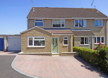 Thumbnail 3 bed semi-detached house for sale in Rodber Close, Wincanton