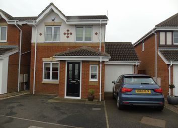 Thumbnail 3 bed detached house for sale in New Moor Close, Ashington
