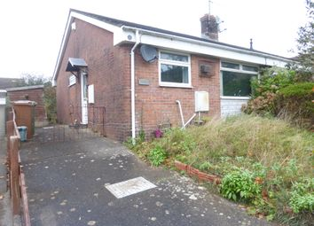 Thumbnail 2 bed semi-detached bungalow for sale in Cae'r Fferm, Caerphilly