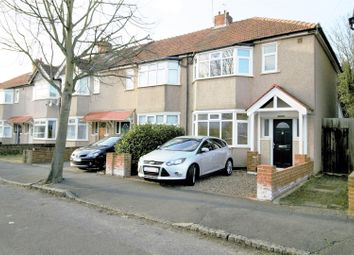 Thumbnail 3 bed semi-detached house for sale in Tennyson Avenue, New Malden