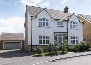 Thumbnail 4 bed detached house for sale in Longwater, Towcester