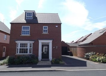 Thumbnail 4 bed detached house to rent in Pompeia Close, Hucknall