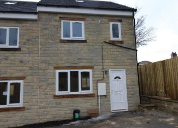 Thumbnail 3 bed terraced house to rent in Harbans Close, Halifax