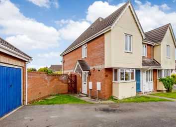 Thumbnail 2 bed end terrace house for sale in Kingfisher Drive, Burwell, Cambridge