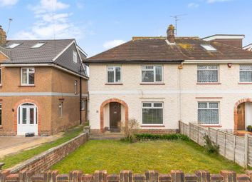 Thumbnail 3 bed semi-detached house for sale in Graham Avenue, Brighton