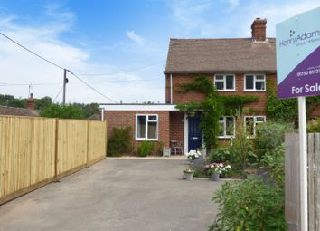 Thumbnail 3 bed semi-detached house for sale in Mill Lane, Trotton, Petersfield