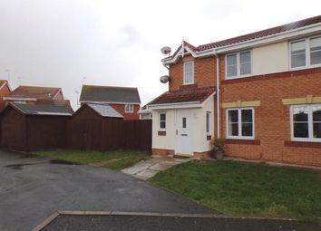 Thumbnail 3 bed semi-detached house for sale in Llys Ogwen, Rhyl, Denbighshire