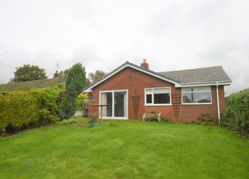 Thumbnail 3 bed detached bungalow to rent in Pool Lane, Thornton-Le-Moors, Chester