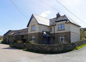 Thumbnail 4 bedroom detached house for sale in Brendon, Lynton