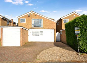 Thumbnail 3 bed detached house for sale in Bampton Close, Wigston, Leicester