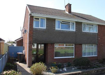 Thumbnail 3 bedroom semi-detached house for sale in Adwick Close, Mickleover, Derby