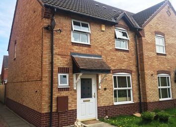 Thumbnail 3 bed detached house to rent in Wye Close, Hilton, Derby