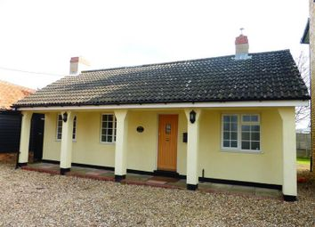 Thumbnail 2 bed bungalow to rent in Newmarket Road, Barton Mills, Bury St. Edmunds