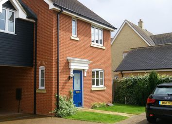 Thumbnail 3 bedroom property to rent in Samian Close, Highfields, Cambridge