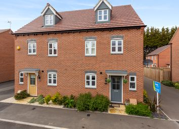 Thumbnail 4 bed semi-detached house for sale in Cascade Close, Burton-On-Trent