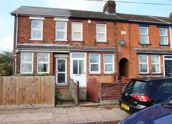 Thumbnail 2 bed end terrace house to rent in Wherstead Road, Ipswich, Suffolk