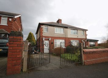 Thumbnail 3 bed semi-detached house for sale in Hollinswood Road, Worsley, Manchester