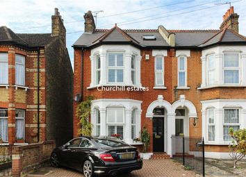 Thumbnail 4 bed semi-detached house for sale in Carnarvon Road, London