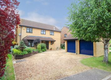 Thumbnail 4 bed detached house for sale in Sundew Court, West Hunsbury, Northampton