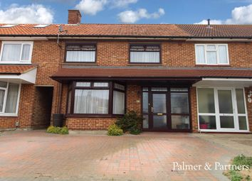 Thumbnail 3 bed terraced house for sale in Angus Close, Ipswich